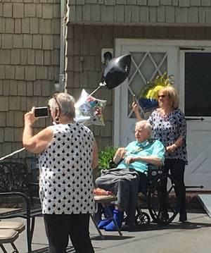 Spotswood's VFW Post 4589 Helps Local Veteran Mark 91st Birthday