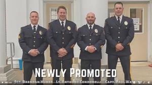 Verona Police Department Promotes Three