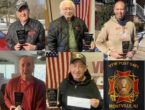 VFW Presents Plaques to Veteran's Day Speakers
