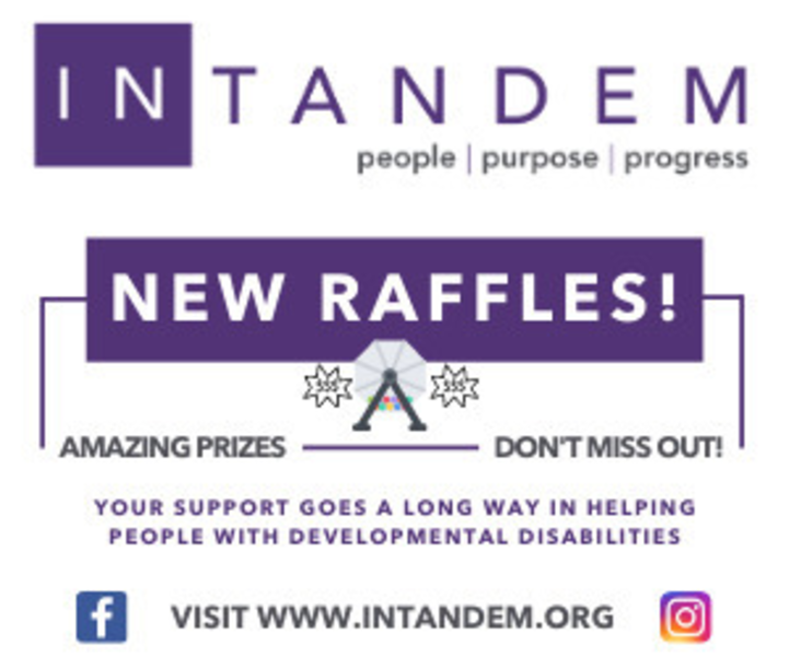 """Good Riddance to 2020 Countdown"" Raffle Helps Local People with Disabilities"
