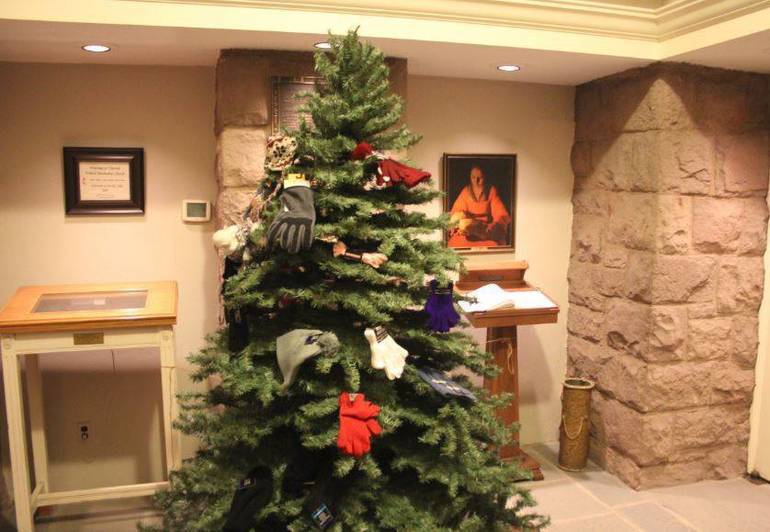 It's Time To Trim The Mitten Tree at Vincent Church Nutley for Those in Need