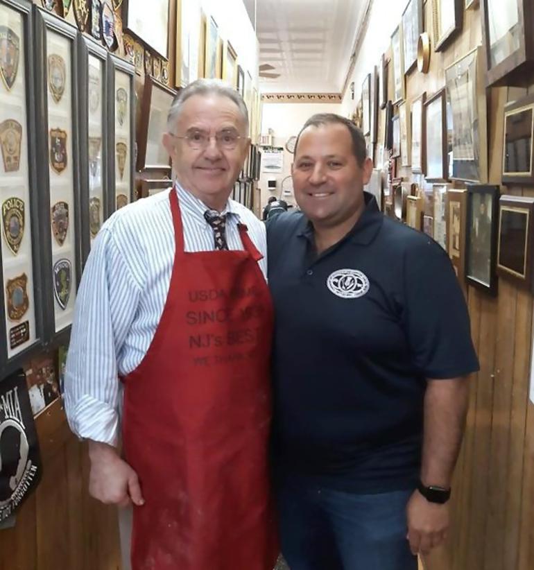 Vinnie Losavio and Scotch Plains Deputy Mayor Josh Losardo