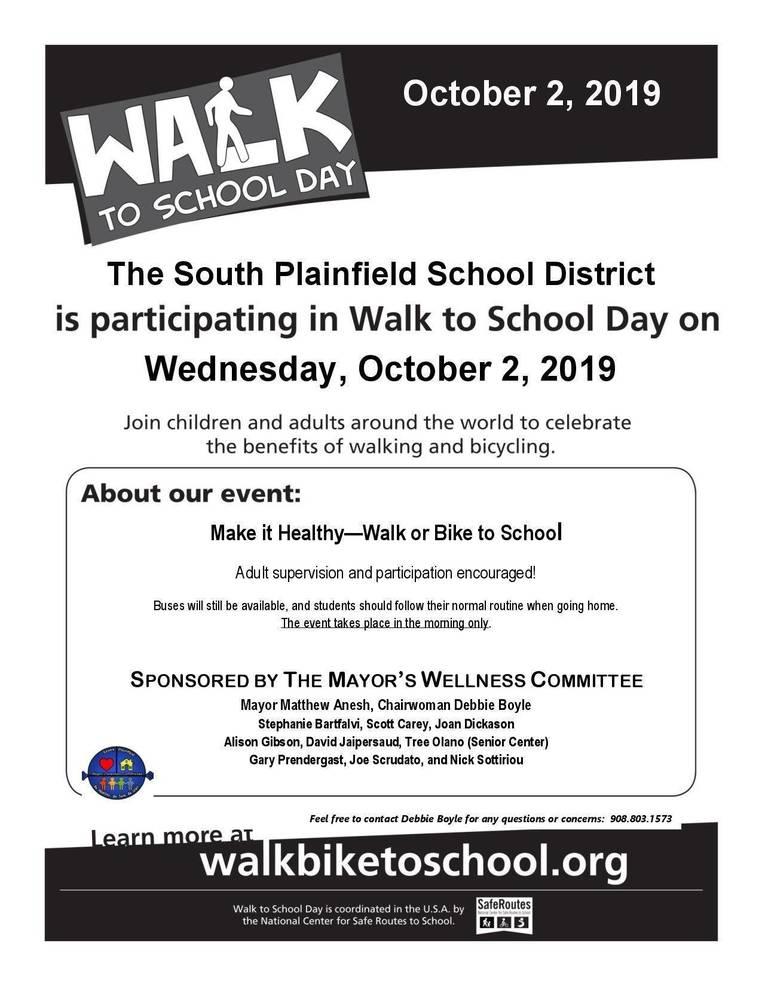 Walk/Bike to School 2019