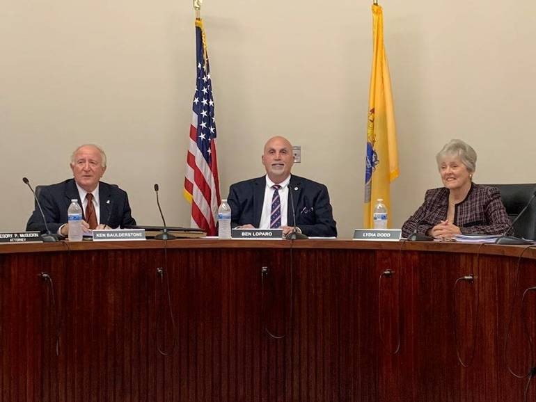 Mayor and Committee Table Tax Abatement Resolution