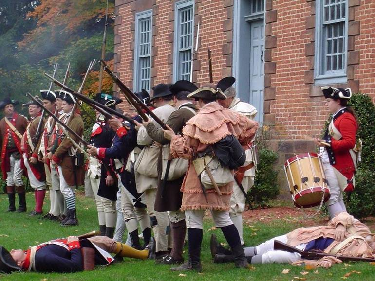 Washington's Army Returns to Dey Mansion