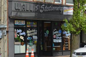 Wallis Stationary, located in downtown Scotch Plains on Park Avenue, will be permanently closing its doors after struggles due to the COVID-19 pandemic.