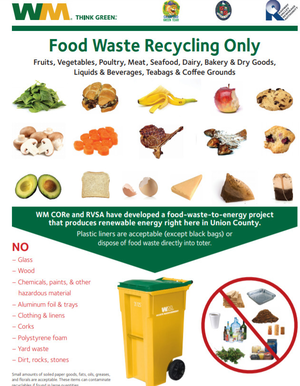"""Cranford Launches """"Food Waste to Energy"""" Program"""