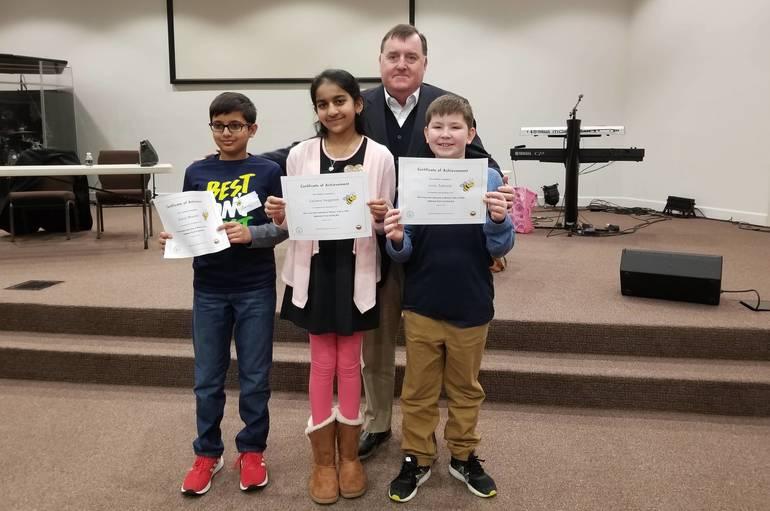 WC Spelling Bee District Winners with Mayor.jpg
