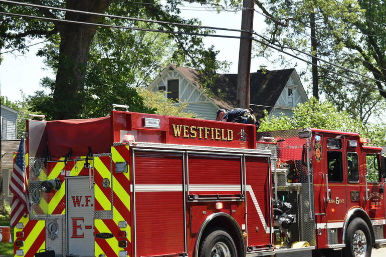 Authorities Seeking Cause of 2-Alarm Fire in Westfield Saturday (UPDATED)