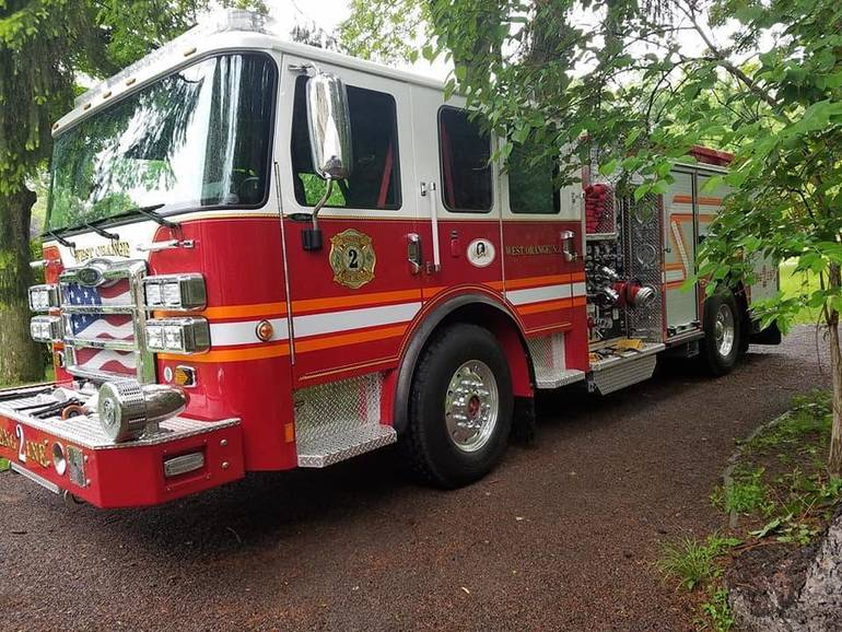 Harrison Avenue Blaze Extinguished in West Orange Monday