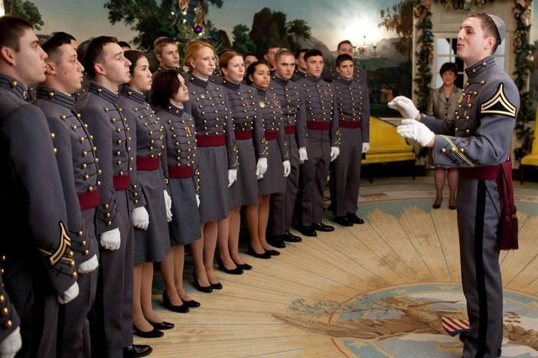 West Point's Jewish Choir