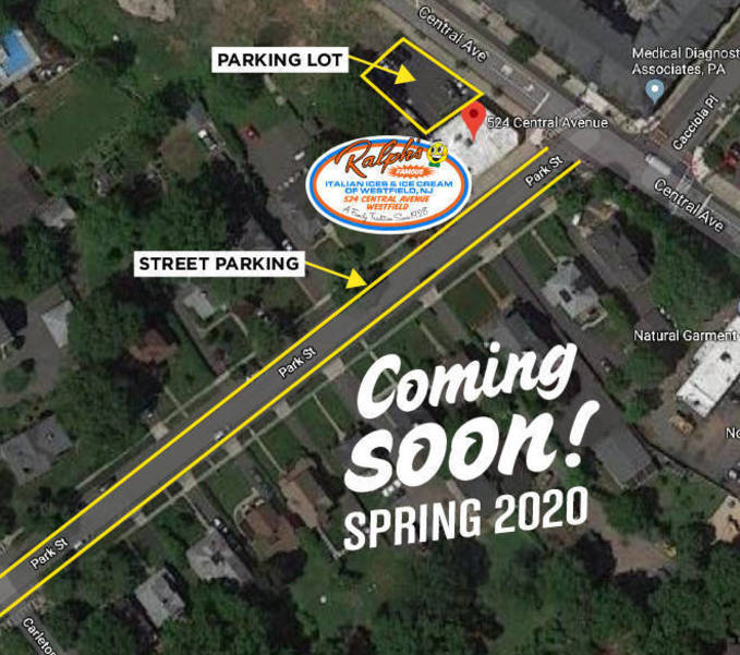 Westfield-Map.jpg Ralph's Famous Italian Ices and Ice Cream to open in Westfield, New Jersey