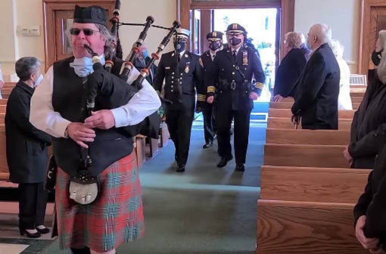 With 'Blue Mass,' Westfield Clergy Give Thanks to Local First Responders