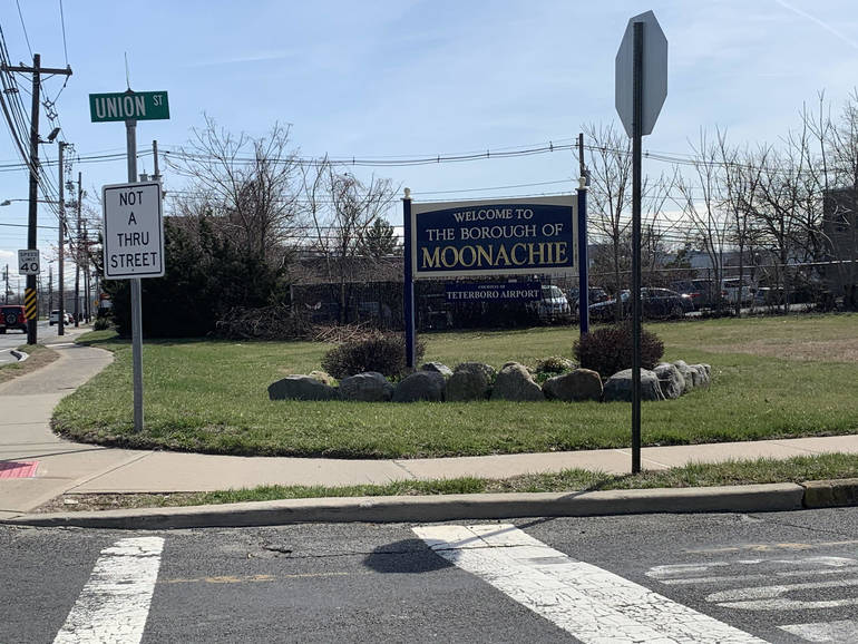 Welcome to Moonachie sign on March 2020 by Katie A.jpg