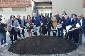 Project to Expand West Side Park Community Center Breaks Ground