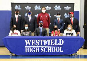 Westfield Athletics: 10  High School Seniors Sign Letters of Intent