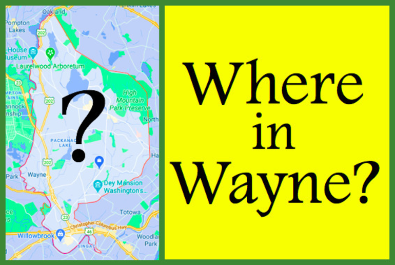 Where in Wayne - Win a $50 Gift Card