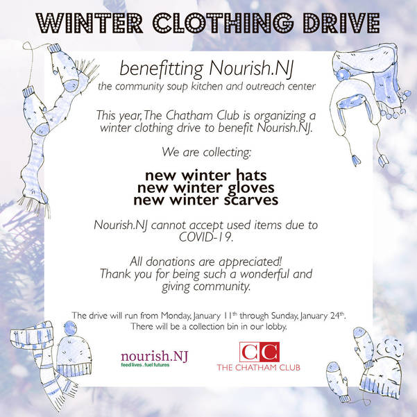 The Chatham Club Runs 2 Week Winter Clothing Drive