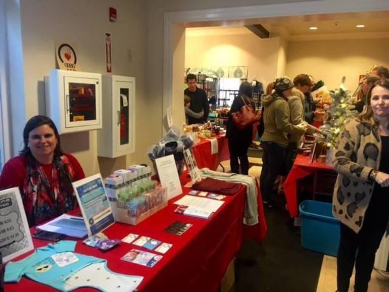 Winter Market exhibitor
