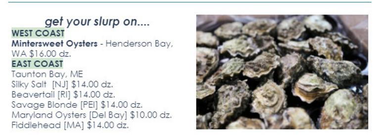 Best crop d0876075a6f26d66d68e wintersweet oysters