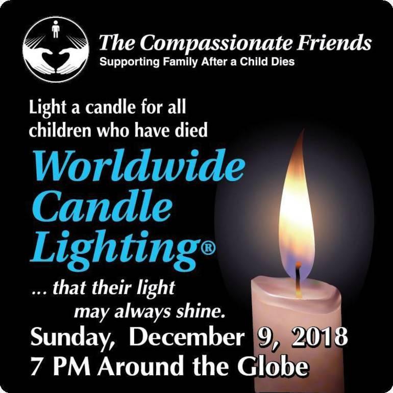 Worlwide candle lighting