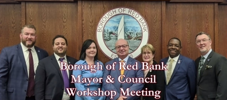 Red Bank Council Workshop Agenda – Placing Sr. Center Under ROSI