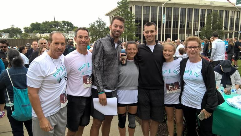 Hundreds Help Break Silence On Ovarian Cancer In Mayor S 5k Run Walk Tapinto