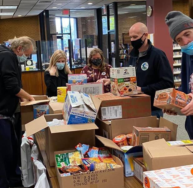 Collection at Woodland Park Library Benefits Little Falls-Based Food Pantry