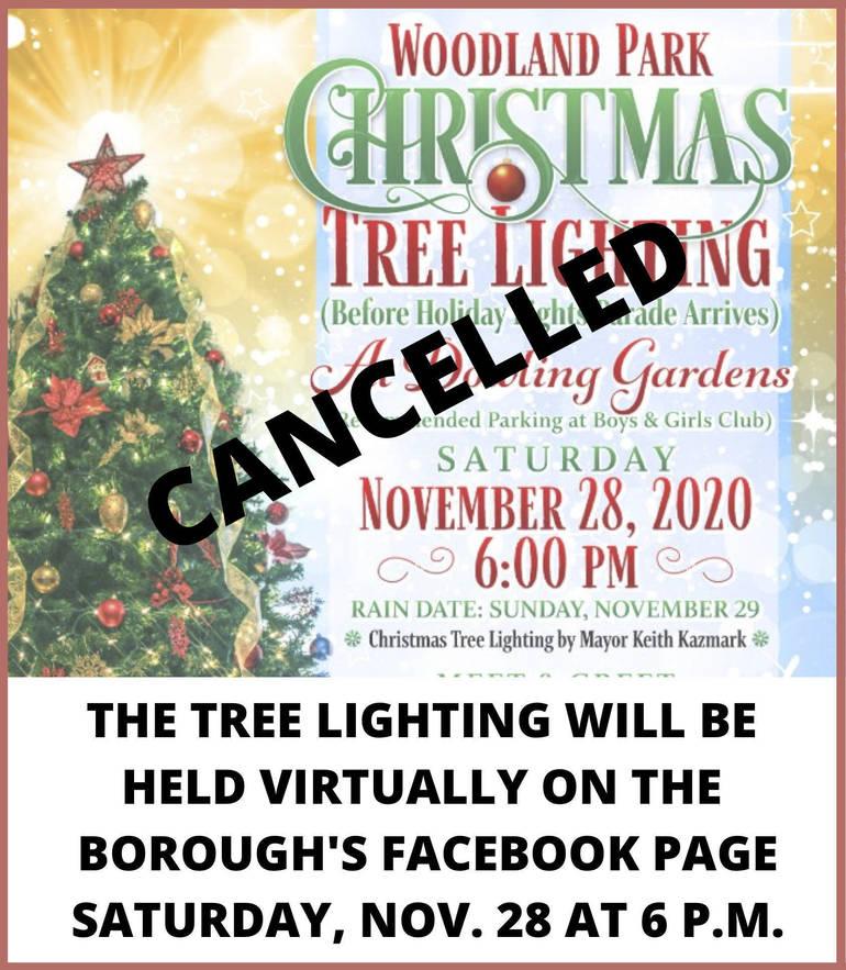 Woodland Park Cancels Tree, Menorah Lighting Events