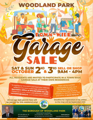 Woodland Park Plans Town-wide Garage Sale; Register Now To Be Included on Event Map