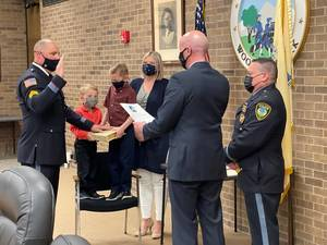 Woodland Park Police Department Promotes Two To Sergeant