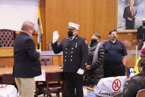 Wayne's New Fire Commissioner, Willie Rodriguez is Sworn-In