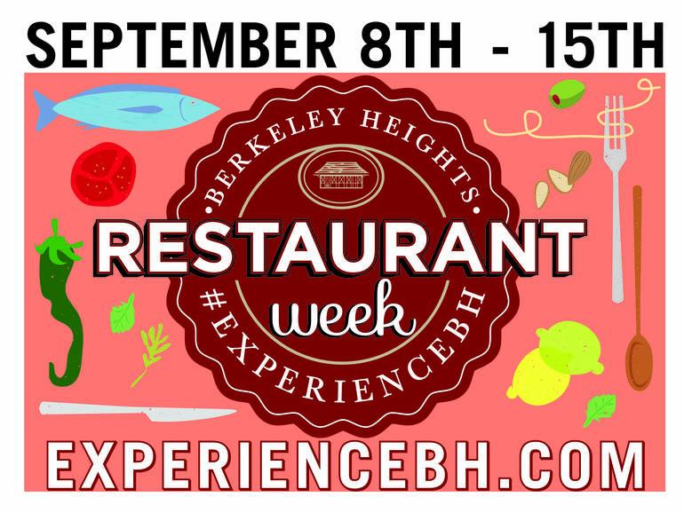 Third Annual Berkeley Heights Restaurant Week