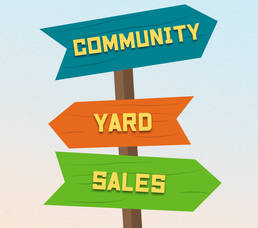 Belmar and Lake Como Spring Ahead with Community Yard Sales on May 15 and 16