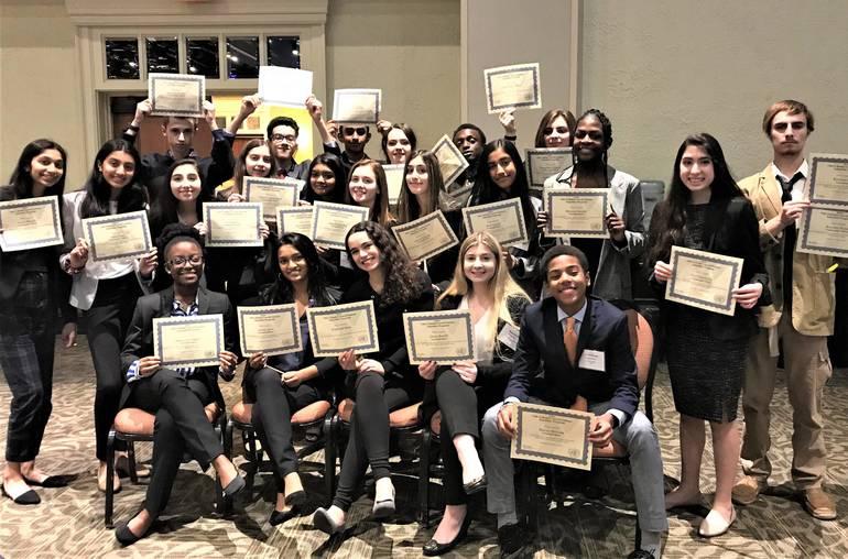 YMCA Award Winning Delegates