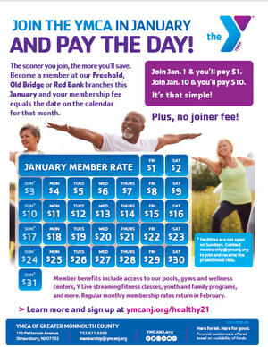 YMCA Offers Great Deal, You Must act Now