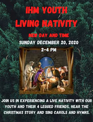 Living Nativity at Immaculate Heart of Mary Church in Scotch Plains on Sun, Dec. 20
