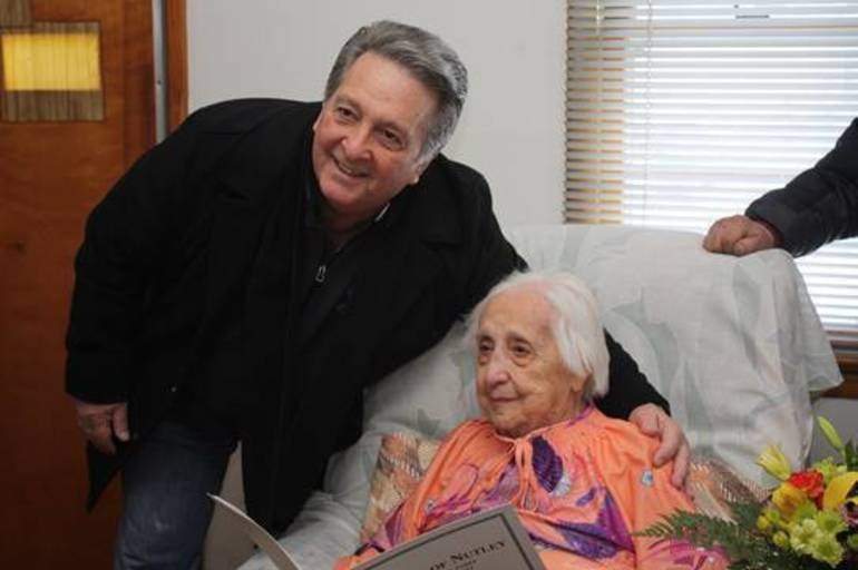Nutley Resident Mary Perna Caruso Celebrates 100th Birthday