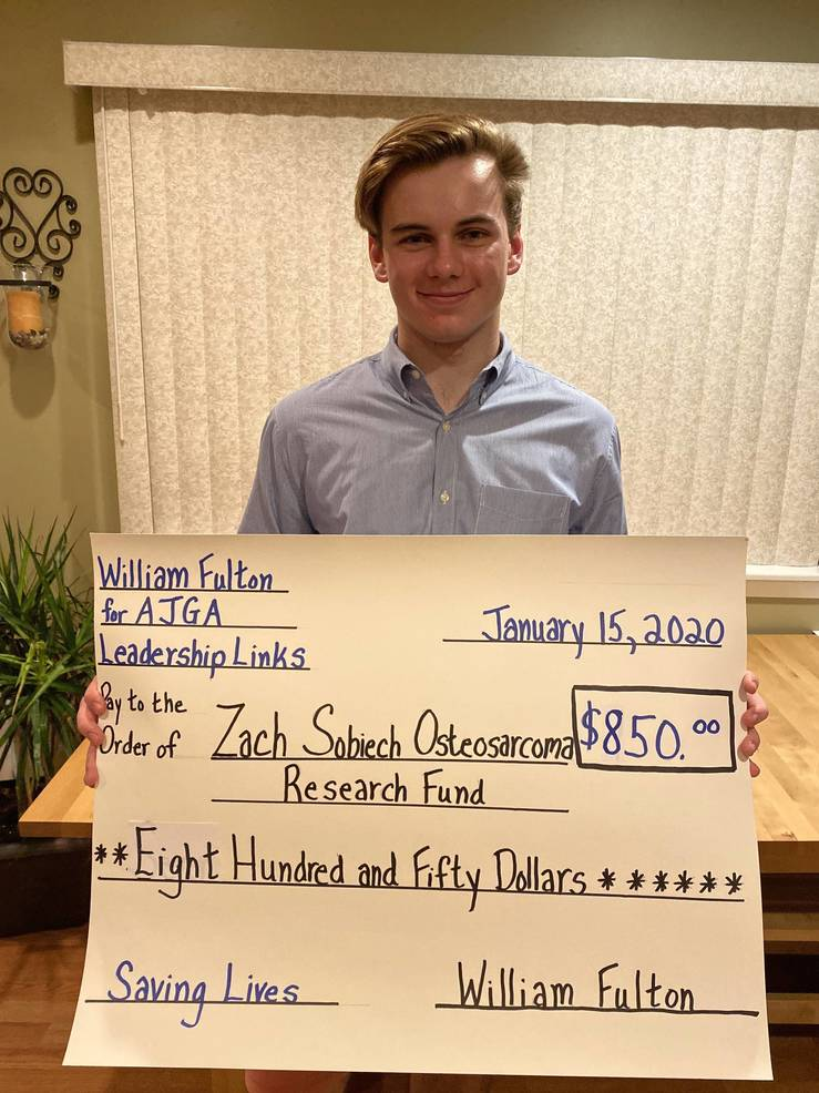 Zach Sobiech Osteosarcoma Research Fund donation by William Fulton.jpg