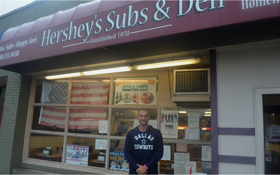 Top story 5faa6385f179c9710c00 zach lipschitz in front of hershey s in westfield