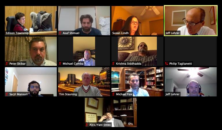 Edison Zoning Board Meeting 11/24/2020
