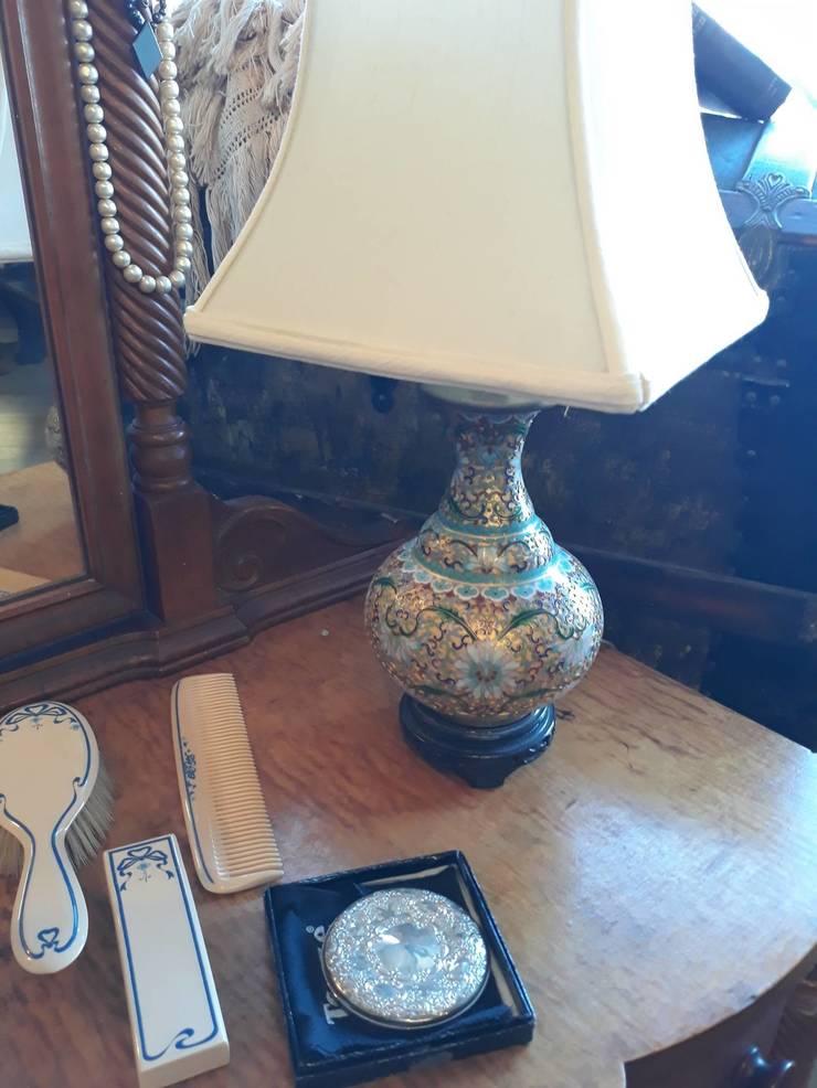 Lovely cloisonne lamp