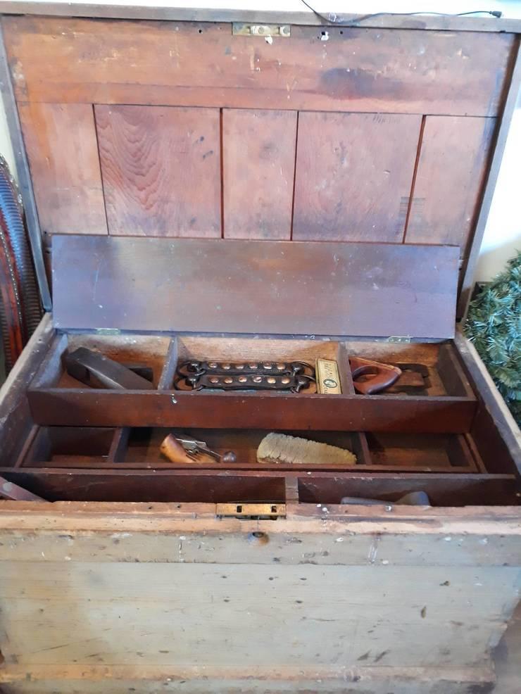 Beautiful antique tool chest