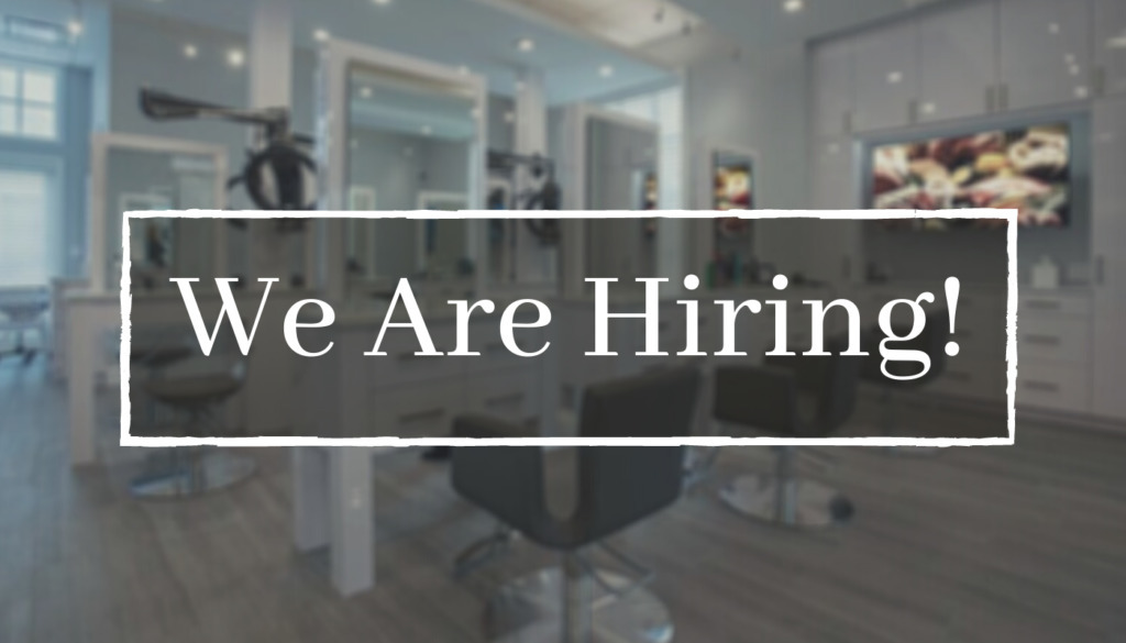 Hair Stylist Assistants Needed at GLAZE Salon
