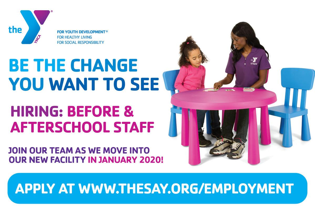 Berkeley Heights YMCA Hiring Before & Afterschool Childcare Staff