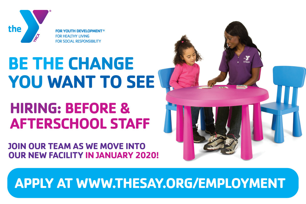 Berkeley Heights YMCA Hiring Before & Afterschool Childcare Staff