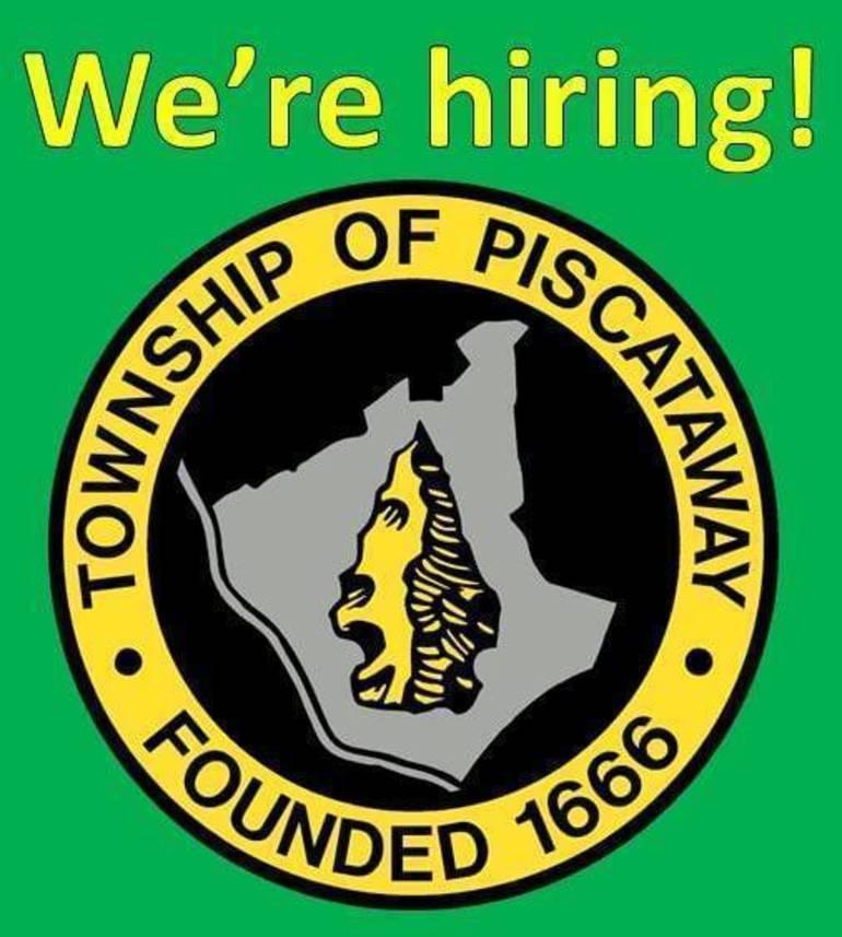 Piscataway Township is Hiring!