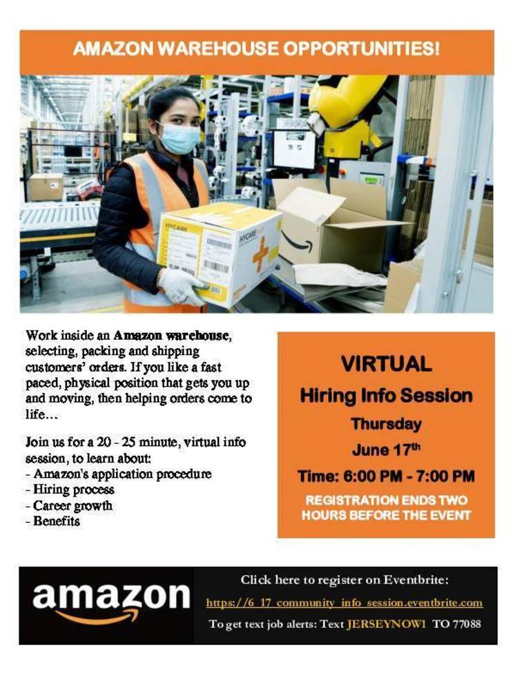 EMPLOYMENT: Virtual Information Session