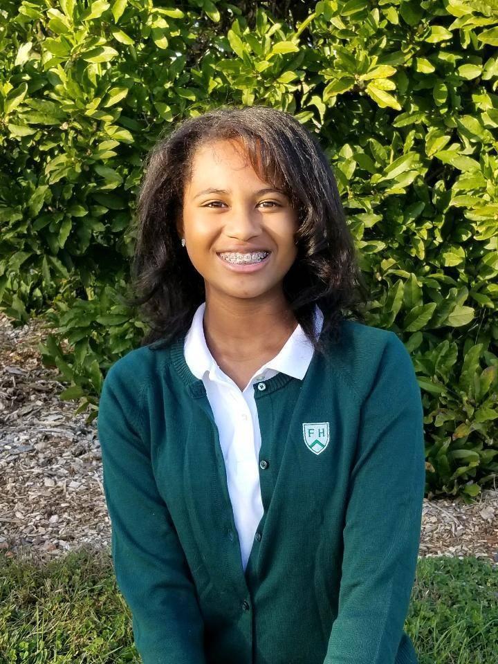 Franklin 7th Grader Sahara Muhammad Scores Trio of Academic Honors