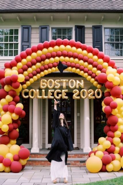 Catherine Serratelli, Graduation Day